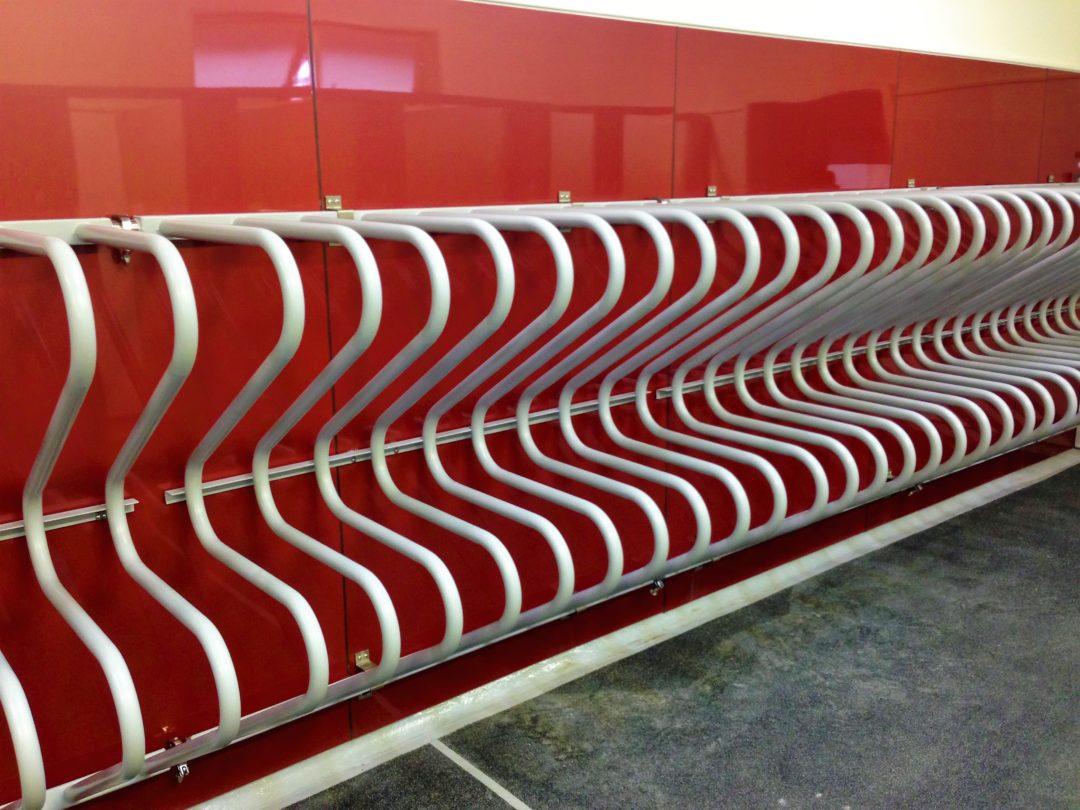 Huntley School Heated Towel Rail